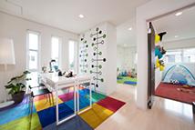 フリースペースと子ども部屋